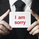 社会人としての上手な謝罪の仕方について